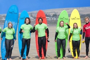 group surf lessons Adelaide