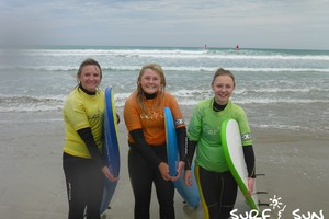 surf lessons Adelaide with teenage kids